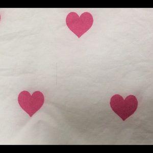 Pottery Barn Kids Bedding - Pottery Barn Kids Pink Heart Sheet Set - Sz FULL